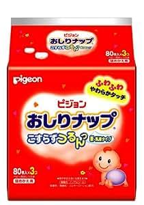 おしりナップ乳液タイプ 詰替用 80枚*3個パック