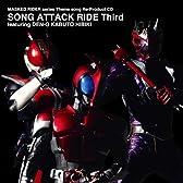 Masked Rider series Theme song Re-Product CD SONG ATTACK RIDE Third featuring DEN-O KABUTO HIBIKI