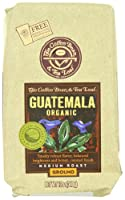 The Coffee Bean & Tea Leaf Hand-Roasted Guatemala Organic Ground Coffee, Medium Roast, 12 oz Bag