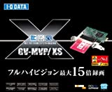 I-O DATA ハードウェアトランスコード搭載 地上・BS・110度CS対応TVキャプチャ PCI Express GV-MVP/XS