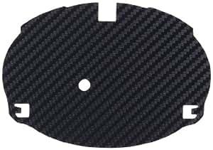 トヨタ プリウス30 プリウスα カーボンエンブレムベース ブラック リヤ用