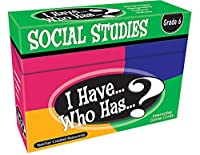 Teacher Created Resources I Have. Who Has.? Social Studies Grade 6 (7867) [並行輸入品]