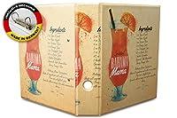 バインダー 2 Ring Binder Lever Arch Folder A4 printed Recipe Bahama Mama
