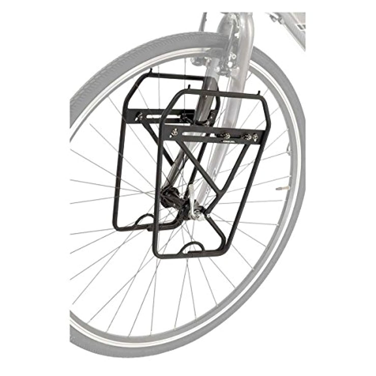 過度のデータ対人Axiom Journey DLX Low Rider Front Rack Black by Axiom