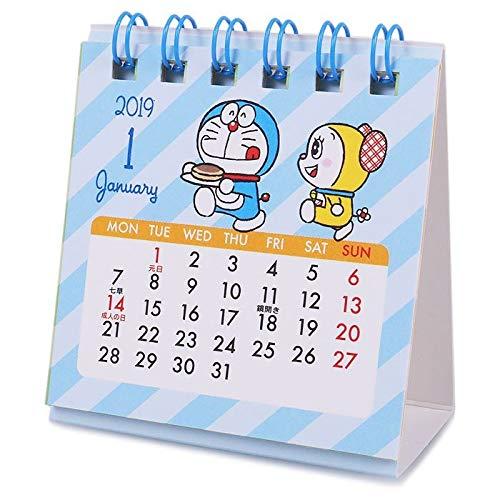 サンリオ 2019年 ミニ卓上カレンダー ドラえもん