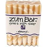 海外直送品 Indigo Wild, Zum Bar, Goat's ミルク ソープ アーモンド , 3 Ounces (2個セット) (Almond) [並行輸入品]