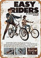 なまけ者雑貨屋 Roadmaster Bicycles ブリキ看板 壁飾り レトロなデザインボード ポストカード サインプレート 【40×30cm】