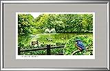 イメージアート『四季』《和田堀公園(東京都》額: YFM-M10号(33.3×53.0cm)・ジクレー版画
