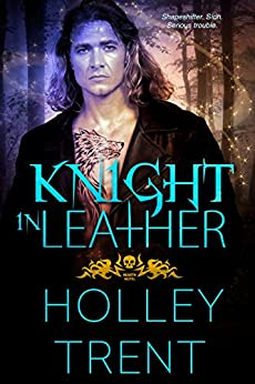 Knight in Leather (Hearth Motel Book 2) by [Trent, Holley]