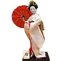 和風の美しい着物芸者/舞妓人形/ギフト/ジュエリー-A34