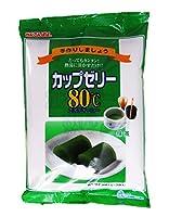 かんてんぱぱ カップゼリーエイティーシー 抹茶 200g(6人分×2袋)