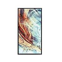 CHenXy 壁画、縦長、抽象的な、現代、シンプル、通路、装飾的な壁画、廊下、リビングルーム、絵画、50×100 cm、60×120 cm 家の装飾 (Color : C, Size : 60X120cm)