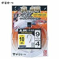 がまかつ(Gamakatsu) 真鯛吹き流し1本仕掛 10M FF-248 8-3.