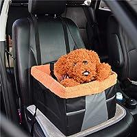ペット犬のカーシートキャリアポータブル安全多機能ペット犬のカーシートブースターチェアキャリアベッド用子犬犬猫,Orange