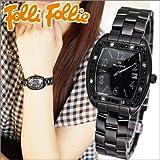 [フォリフォリ]Folli Follie レディース 時計 【WF9E004BDK】ブラック/クリスタル [並行輸入品]