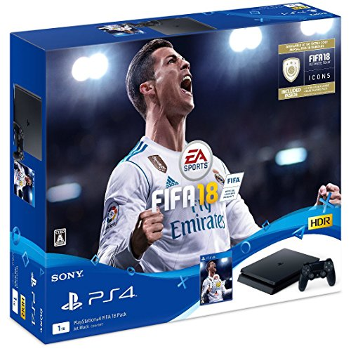 PlayStation 4 FIFA 18 Pack【本体同...