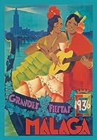 Buyenlarge 02882-3P2030グランフィエスタ20x30ポスター