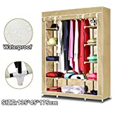 Large Wardrobe Storage Portable Bedroom Clothes Closet Double Stable Easy Assemble