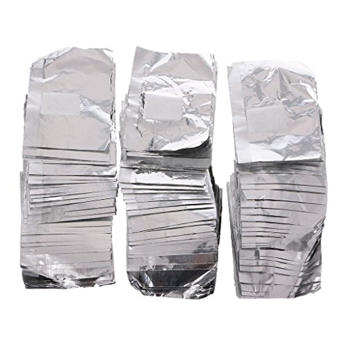 インシデント風刺言い換えるとジャッキーネイルアートアンロード錫箔150Pcピースアルミ箔ネイルアートソークオフアクリルジェルポリッシュネイルラップリムーバー