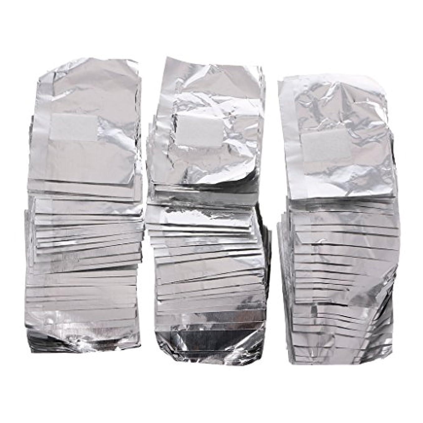 記憶に残るアライアンスセンブランスジャッキーネイルアートアンロード錫箔150Pcピースアルミ箔ネイルアートソークオフアクリルジェルポリッシュネイルラップリムーバー