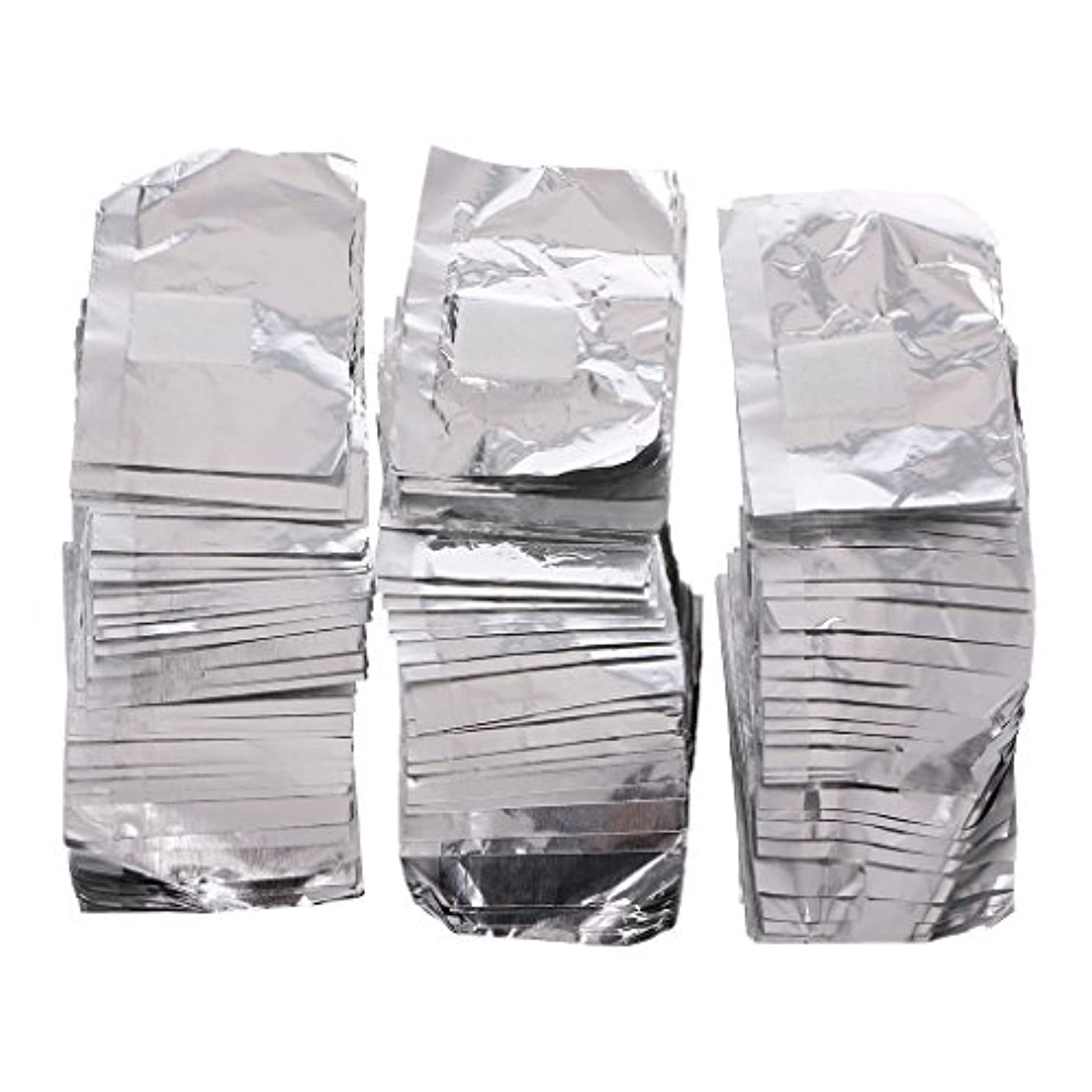 存在荒らすポップジャッキーネイルアートアンロード錫箔150Pcピースアルミ箔ネイルアートソークオフアクリルジェルポリッシュネイルラップリムーバー