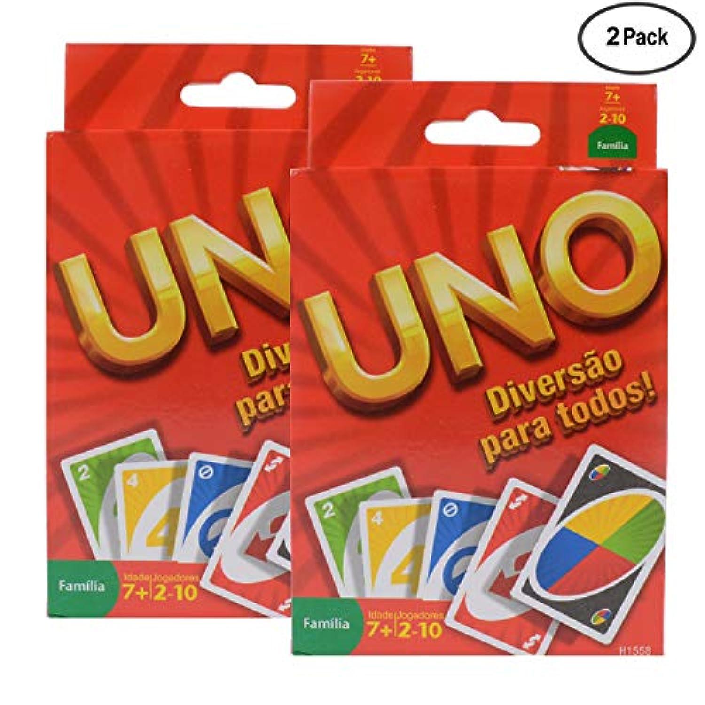 ファミリーカードゲーム オリジナルUNOカード 2パック