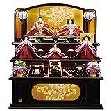 雛人形 紫香 「一、二の三段」 五人飾り ひな人形 三段飾り 東玉 HNTG-35005