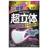 (日本製 PM2.5対応)超立体マスク ウィルスガード Ag+フィルタ抗菌 小さめサイズ 3+1枚入(unicharm)