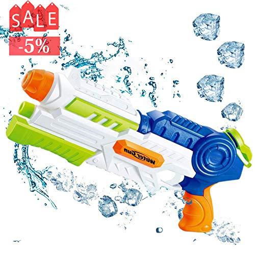 Cozyone 水鉄砲 最強 超強力飛距離 10-12m ウォーターガン 超大水容量 夏の定番 水遊び 水遊び プール 子供 高性能 水撃ショット 大人用