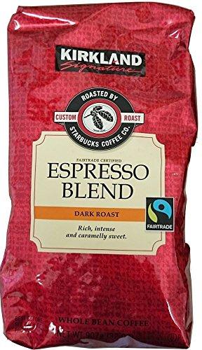 Kirkland スターバックス ローストエスプレッソコーヒー(豆) 907g