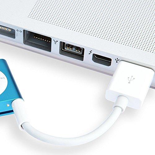 COOLEAD iPod shuffle専用 USBケーブル 第3、4世代用 データ転送 充電