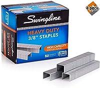 Swingline ホチキス針 高耐久 長さ3/8インチ 60枚 100枚 1パック (79398)
