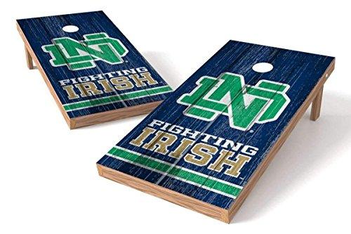 PROLINE NCAA カレッジ 2 x 4インチ 穴あきボードセット–ヴィンテージデザイン