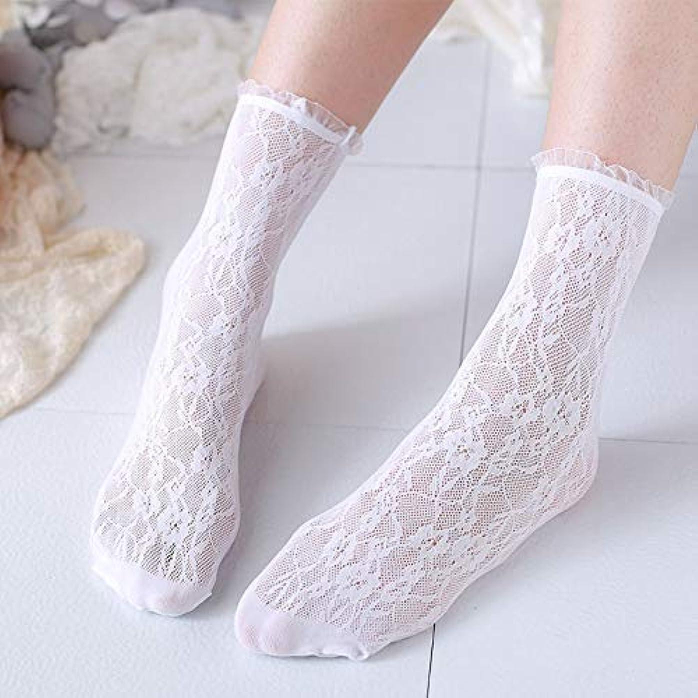 プライバシー風刺からに変化する日本の ロリータレースパイルソックスレースストッキングレトロセン学生妖精靴下