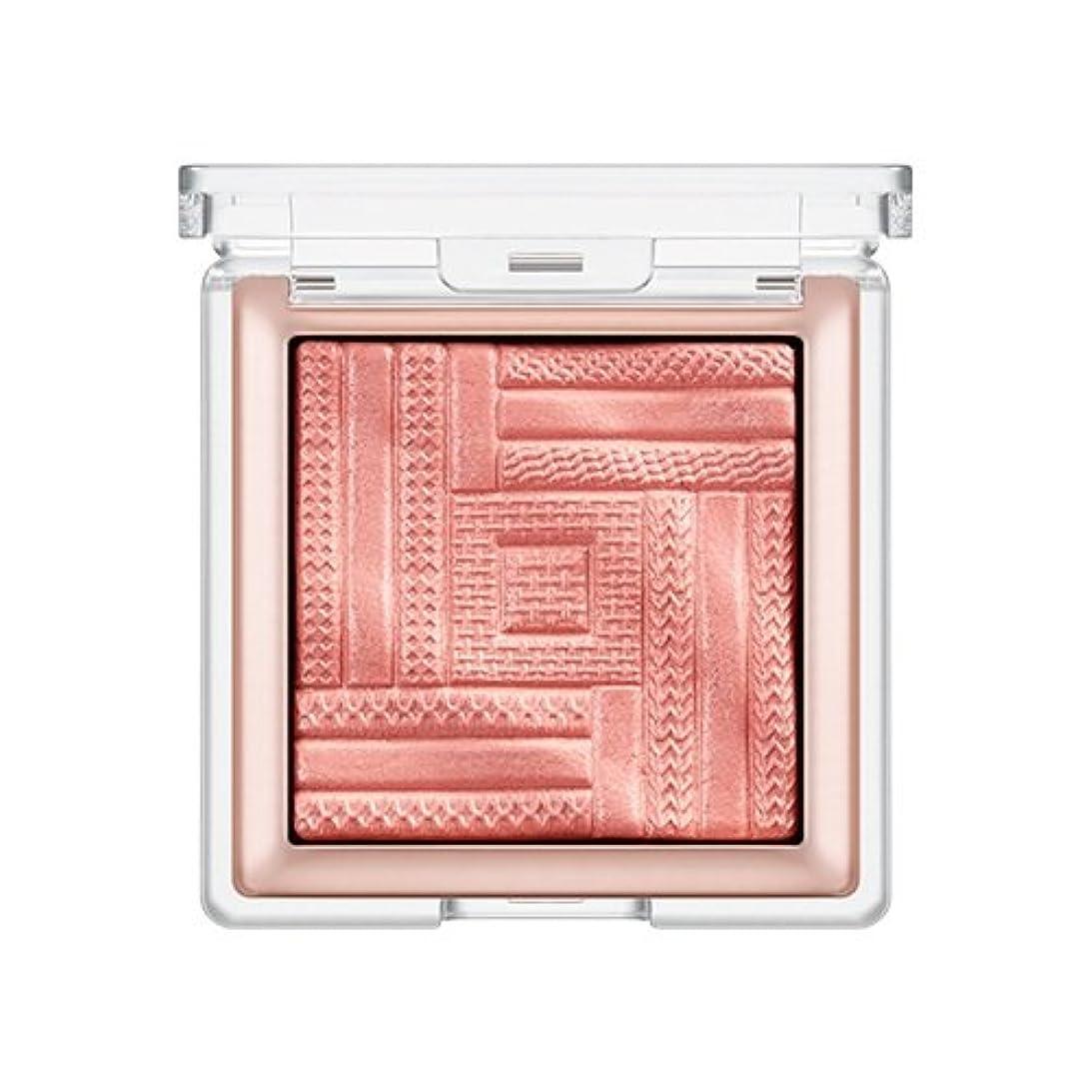 顕著心から不完全なMISSHA Satin Ital Prism Blusher (# Pink Village) / ミシャ サテンイタルプリズム チーク ブラッシャー [並行輸入品]