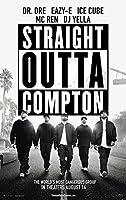 "Straight Outta Compton–NWA–( 24"" x 36""映画ポスター"