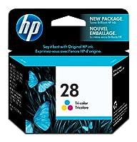 HP 28 Tri-color Original Ink Cartridge (C8728AN) [並行輸入品]