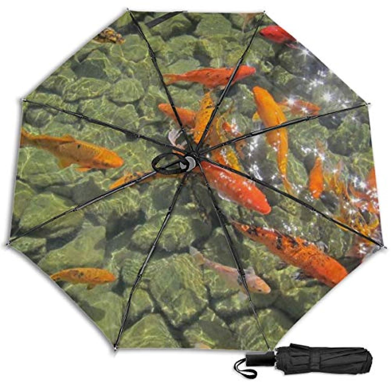 グラマー交通渋滞政治的日本のファンシーKo魚日傘 折りたたみ日傘 折り畳み日傘 超軽量 遮光率100% UVカット率99.9% UPF50+ 紫外線対策 遮熱効果 晴雨兼用 携帯便利 耐風撥水 手動 男女兼用