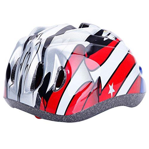 ヘルメット 子ども 自転車 子供用 軽量 45-52cm 調...
