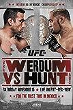 UFC 180ファブリシオ・ベルドゥムvsマークハントスポーツポスター12?x 18