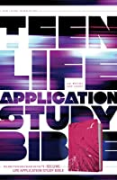 Teen Life Application Study Bible: New Living Translation, Pink Fields, LeatherLike (Bible Nlt)