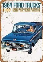 Ford Trucks ティンサイン ポスター ン サイン プレート ブリキ看板 ホーム バーために