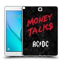 オフィシャル AC/DC ACDC マニー・トーク ソング・タイトル ソフトジェルケース Samsung Galaxy Tab A 9.7