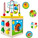 Ms.0 ビーズコースター 型あわせ パズル ボックス 型はめ モンテッソーリ教具 知育玩具 赤ちゃん 積み木 木のおもちゃ PL保険加入済