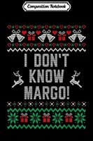 Composition Notebook: Funny Ugly Christmas Sweater Todd And Margo Couples for Him  Journal/Notebook Blank Lined Ruled 6x9 100 Pages