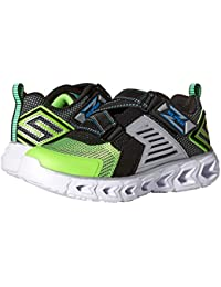 [SKECHERS(スケッチャーズ)] キッズスニーカー?靴 Hypno Flash 2.0-Rapid Quake 90587L Lights (Little Kid/Big Kid) Lime/Black 12 Little...