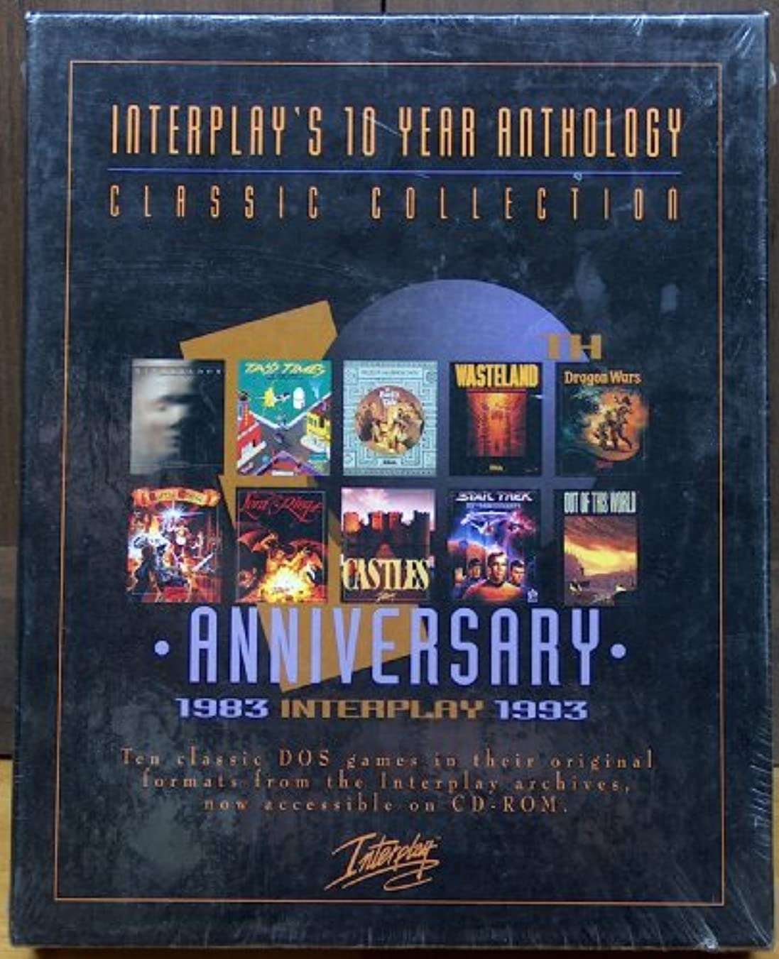 バレル木製ロバInterplay 10th Anniversary Anthology Collection (輸入版)