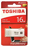 16GB TOSHIBA 東芝 USB3.0 USBメモリー TransMemory キャップ式 ホワイト 海外リテール THN-U301W0160A4
