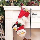 ベル& Sleigh Bells–Christmas Decorations–クリスマスストッキング–クリスマスストッキングClothesサンタソックスクリスマスの新しい年のギフトキャンディギフトバッグforキッズ–クリスマスギフト 600153677069