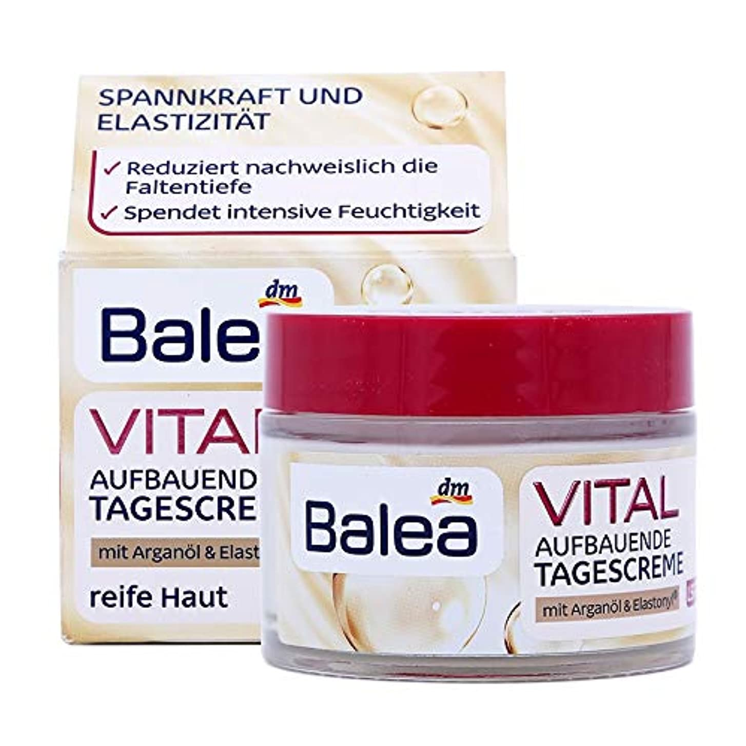 商品代わりの廃棄中高年の年齢のためのBalea VITAL UpliffingデイクリームSPF15バオ40 +アンチリンクルは、弾性ファーミングを強化